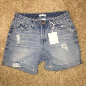 NWT LC Lauren Conrad light denim shorts